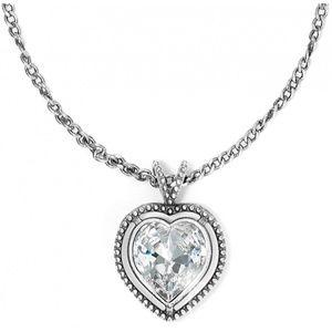 brighton ecstatic petite heart necklace